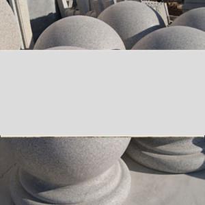 五莲花石材圆球